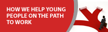 How we help young people on the path to work